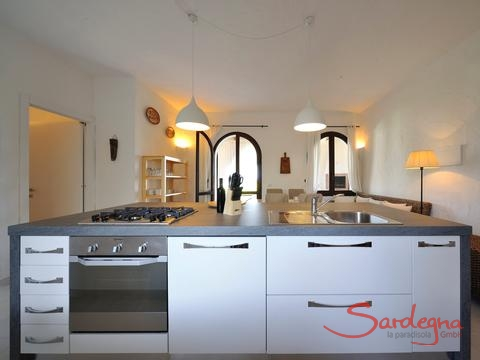 Modern, fully equipped and classy open kitchen