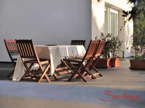 Terrace dining furniture
