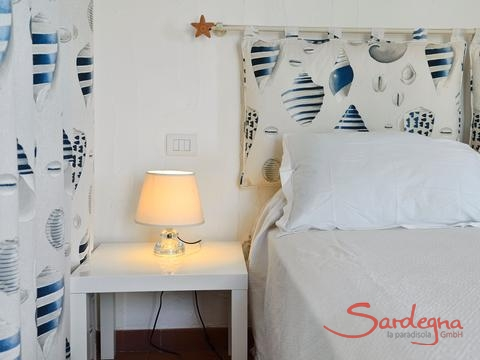 Bedroom 1 with sea stile deco