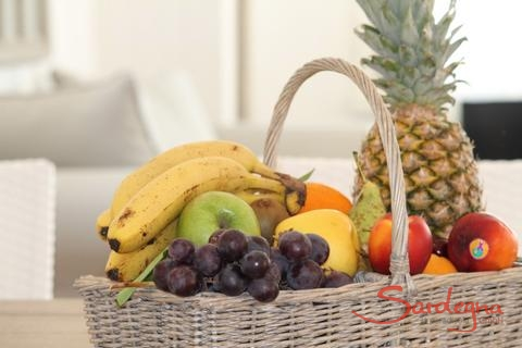 Sardinia offers lots of fresh fruit