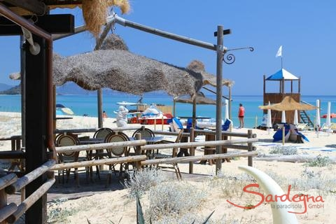 beachbar, Cala Sinzias