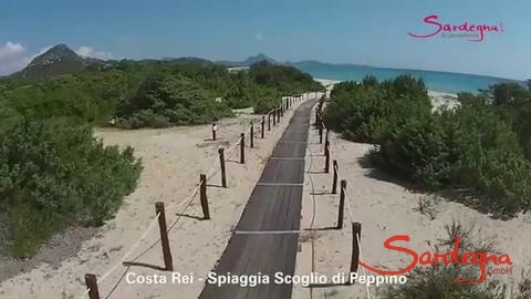 Video Strand Scoglio di Peppino