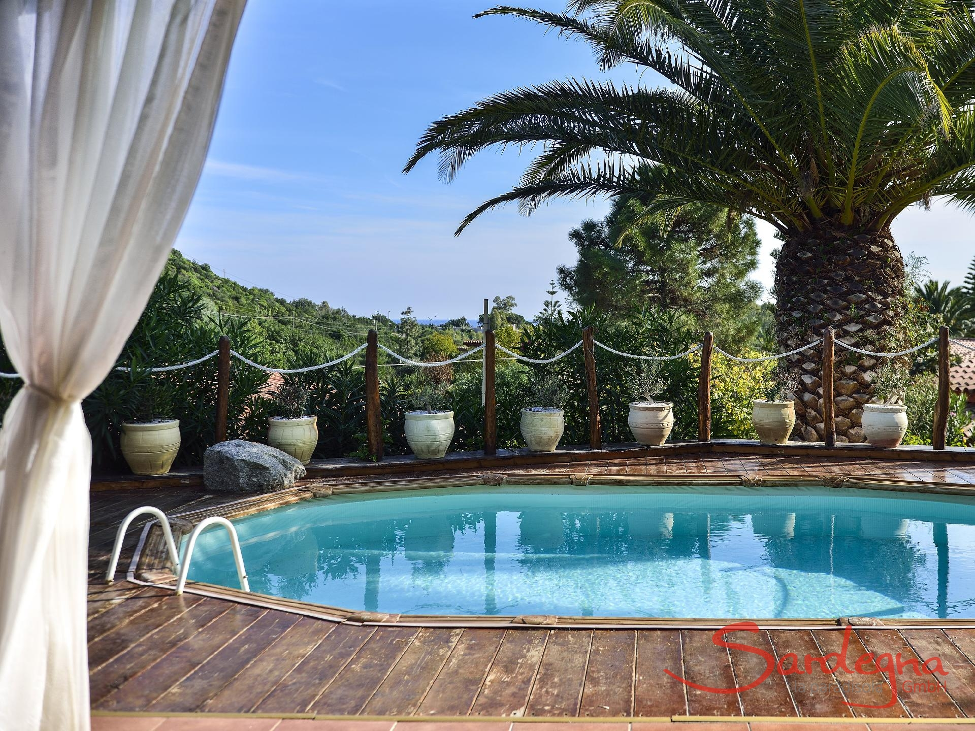 ferienhaus villa francesca costa rei sardinien. Black Bedroom Furniture Sets. Home Design Ideas