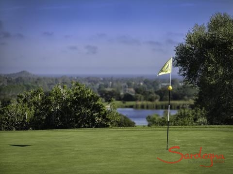 Golfcourse Is Molas with sea view just 0,6 miles from the house