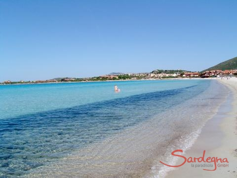 Excursion destination, beach in Olbia, 30 km. away
