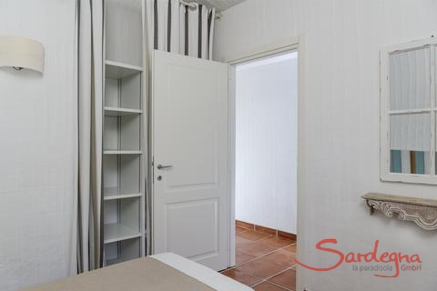 Entrance door to bedroom 2 with wall closet